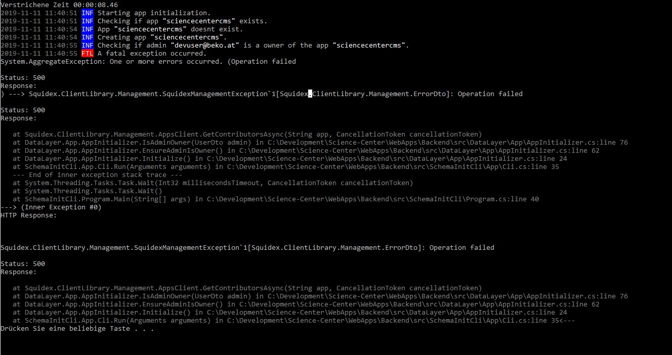SquidexClientLibraryException
